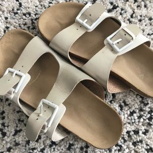 American Eagle Birk style sandals